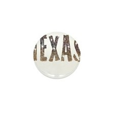 Texas Coffee and Stars Mini Button (10 pack)