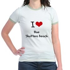 I Love BLUE SHUTTERS BEACH T-Shirt