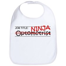 Job Ninja Optometrist Bib
