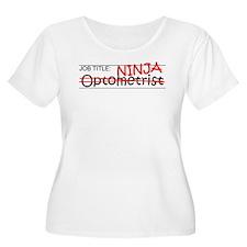 Job Ninja Optometrist T-Shirt