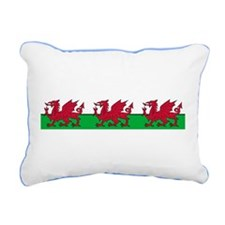 March of the Welsh Red Dragons Rectangular Canvas