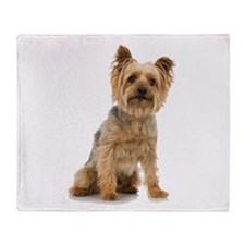 Yorkshire Terrier Throw Blanket
