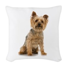 Yorkshire Terrier Woven Throw Pillow
