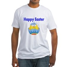 Happy Easter with chick in Egg T-Shirt
