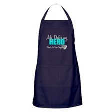 Dad is my Hero Apron (dark)