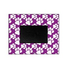 Dog Paws Purple Picture Frame