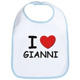 I love Gianni Bib