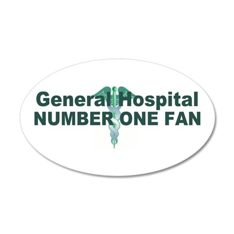 General Hospital number one fan large Wall Decal