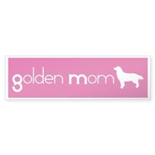 Golden Mom Bumper Bumper Sticker