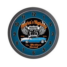 America's Highway 66 Wall Clock