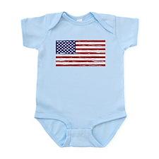 American Flag Body Suit