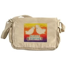 Funny Dove Messenger Bag