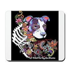 Black Pitbull Day ot The dead Mousepad
