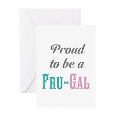 Fru-Gal Greeting Card