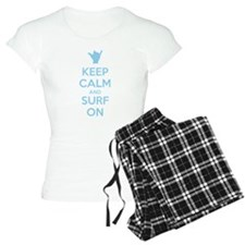 Keep Calm and Surf On Pijamas