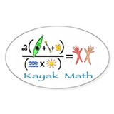 Kayak Math Decal