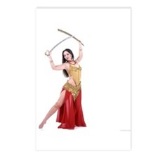 Bellydance Postcards (Package of 8)