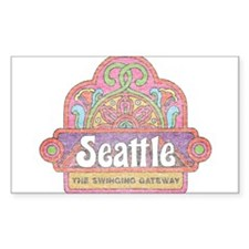 Vintage Seattle Decal