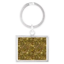 Growing Vines Landscape Keychain