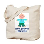 I LOVE GRANDPA BOY Tote Bag