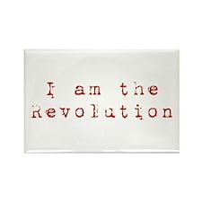 I am the revolution Rectangle Magnet