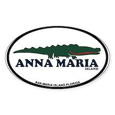 Anna Maria Island - Alligator Design. Decal