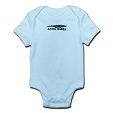 Anna Maria Island - Alligator Design. Infant Bodys