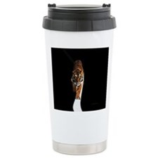Tiger in the space Ceramic Travel Mug