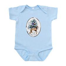 Saluki Christmas Infant Bodysuit