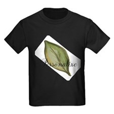 Personalizable Green Watercolor Leaf T-Shirt