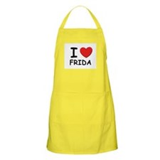 I love Frida BBQ Apron