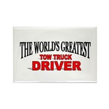 """The World's Greatest Tow Truck Driver"" Rectangle"