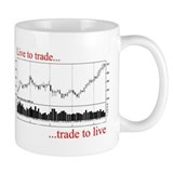 Live to trade Day Traders Small Mug
