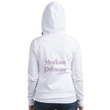 Mexican Princess Fitted Hoodie