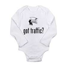 Air Traffic Control Long Sleeve Infant Bodysuit