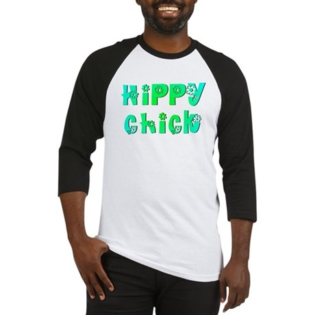 Hippy Chick Baseball Jersey