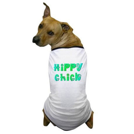 Hippy Chick Dog T-Shirt
