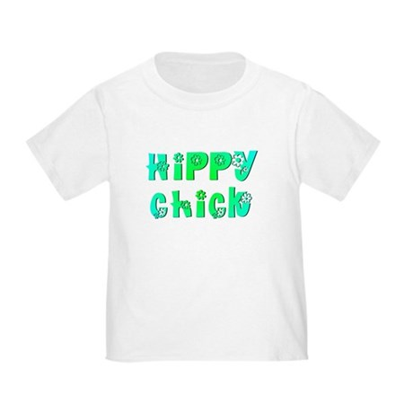 Hippy Chick Toddler T-Shirt
