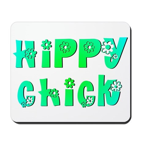Hippy Chick Mousepad