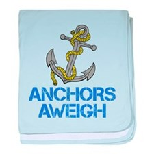 Anchors Aweigh baby blanket