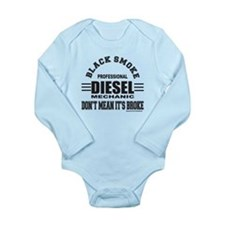 DIESEL MECHANIC Long Sleeve Infant Bodysuit