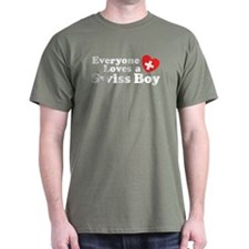 Everyone Loves a Swiss Boy T-Shirt