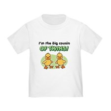 Big cousin of twins - Ducks T-Shirt