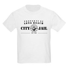 Long Beach City Jail Kids T-Shirt