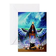 AusetYemoja Greeting Cards (Pk of 10)