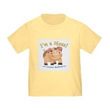 I'm a Mess Toddler T-shirt
