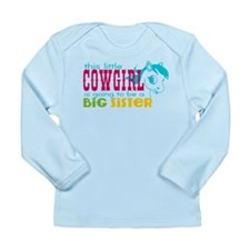 Little Cowgirl Big Sister Long Sleeve T-Shirt