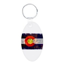 Colorado Wildfire Flag Keychains