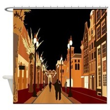 Evening Stroll Shower Curtain