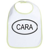 Cara Oval Design Bib
